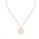Simple flower design muslim gold pendant gold allah pendants