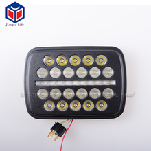 New Arrival direct mount For Truck 5X7 inch Low/High beam 30W 54W LED Work light