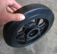 10inch heavy load iron wheel for delivery cart