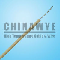 High temperature 18awg soft flexible silicon cable