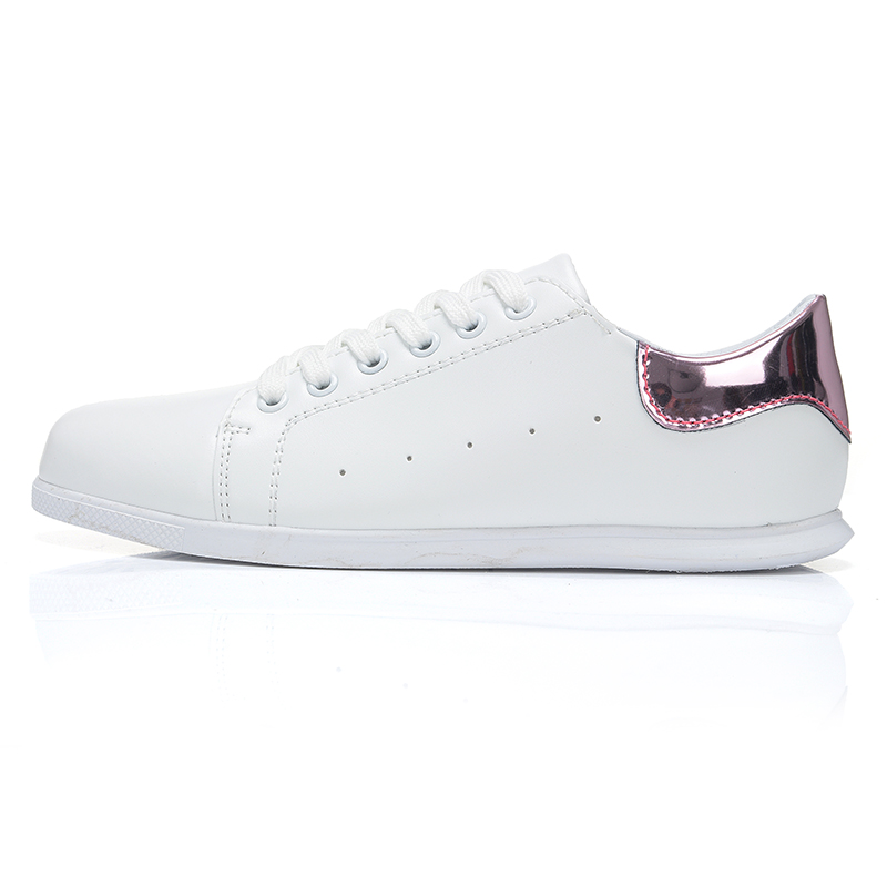 2016 Customized l celebrity fashion famous women casual white shoes