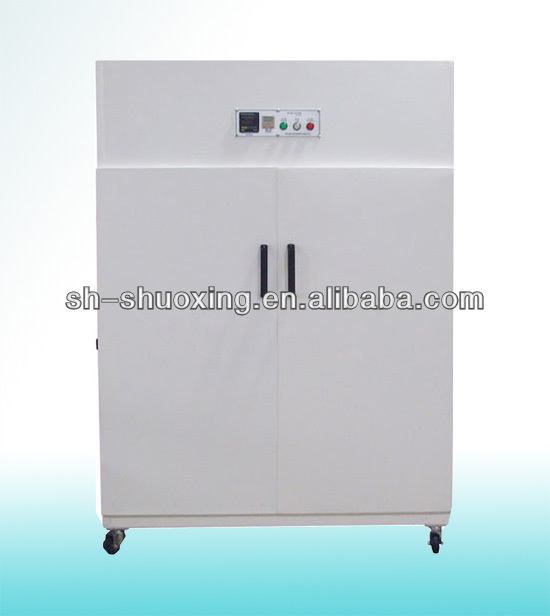 Vertical screen frame dryer, screen drying cabinet