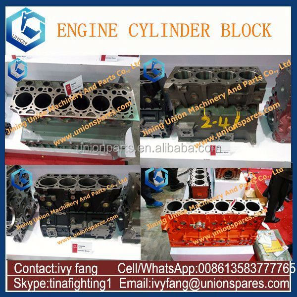 4D95L Diesel Engine Block,4D95L Cylinder Block for Komatsu Excavator PC120-3