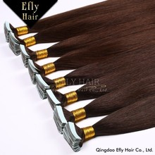 Grade AAAAA 16, 18, 20, 22, 24 inch Remy tape Hair Extension, Wholesale Price Blonde 19 Colors Optional