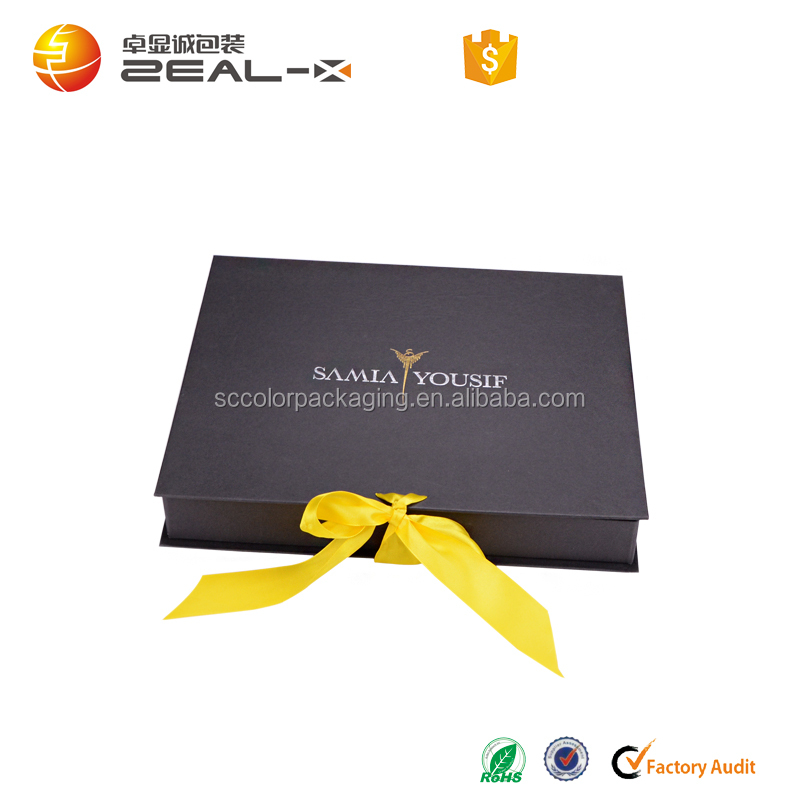 High quality foldable paperboard gift box package