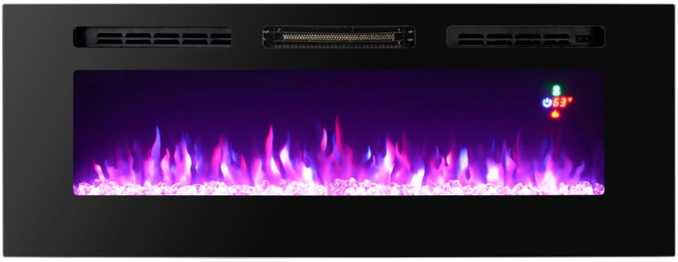 "50"" Wall Recessed Electric Fireplace /Wall Recessed Fireplace/ Wall mounted Electric Fireplace"
