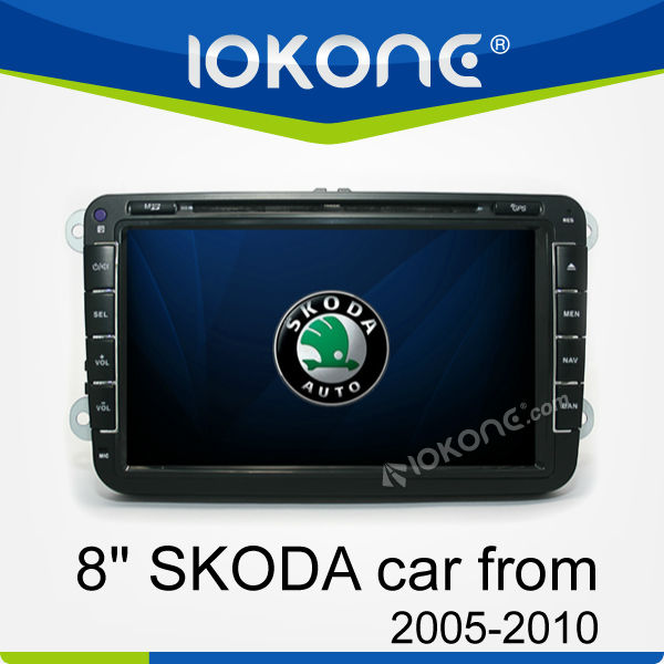 Car Audio Video Entertainment Navigation System for SKODA OCTAVIA II