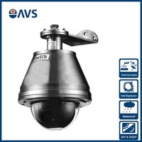 2016 New Designed 700TVL CCD High Speed Dome PTZ Anti-Explosion Cameras