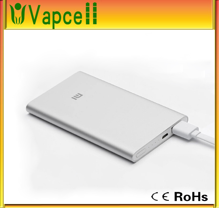 100% original xiaomi power bank 5000mAh xiaomi 5000 external battery charger pack portable charger mi charger mobile powerbank
