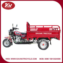 Guangzhou factory produce fashion KAVAKI brand red air-cooled 250cc indian bajaj tricycle
