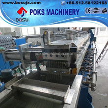 hot sale waste plastic film recycling granulating line