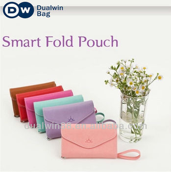 Factory source leather cell phone wallet bags for samsung apple