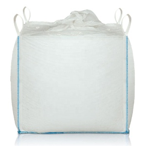 FIBC  bulk container bag pp ton bag 1000kg 4 loop pp jumbo bag dimension for sand,cereal