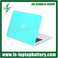 Hotsale New Design Transparent Protective Silicone Rubberized PC Hard Shell Case Cover for Macbook Air 13 Case