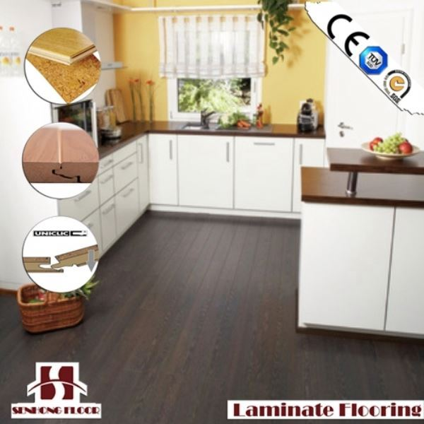 SH chestnut color laminate floor