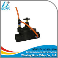 2 inch Irrigation globe/angle valve with flow control & manual set