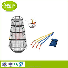 Medical High Quality Stainless Steel Basket Stretcher