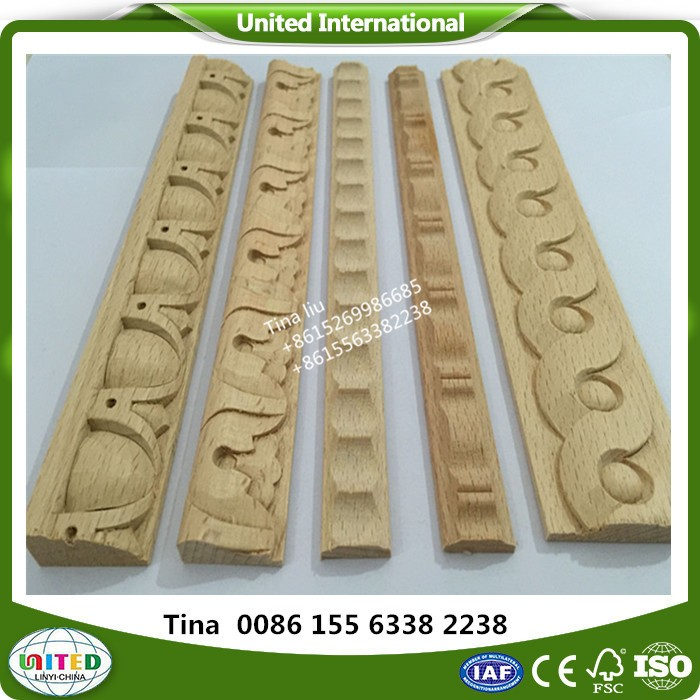 CNC wood carved crown moulding molding