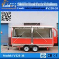 Beauty Style Street Fast Food Vending Cart-Snack Food Truck design