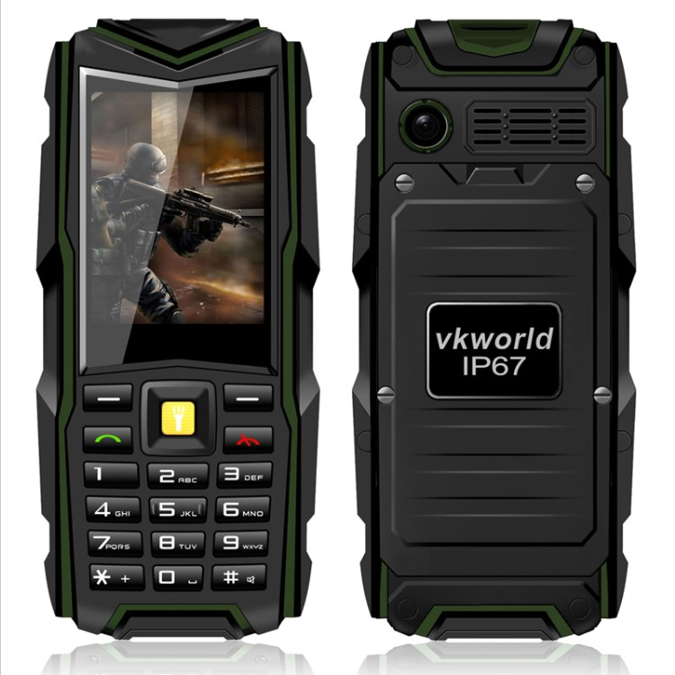 Original VKworld Stone V3 Rugged Smartphone P67 Waterproof Shockproof Dustproof Outdoor Army Android Smart Mobile Phone 5200mAh