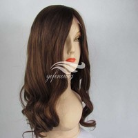 Natural Hair style3 Finger Wave Wig
