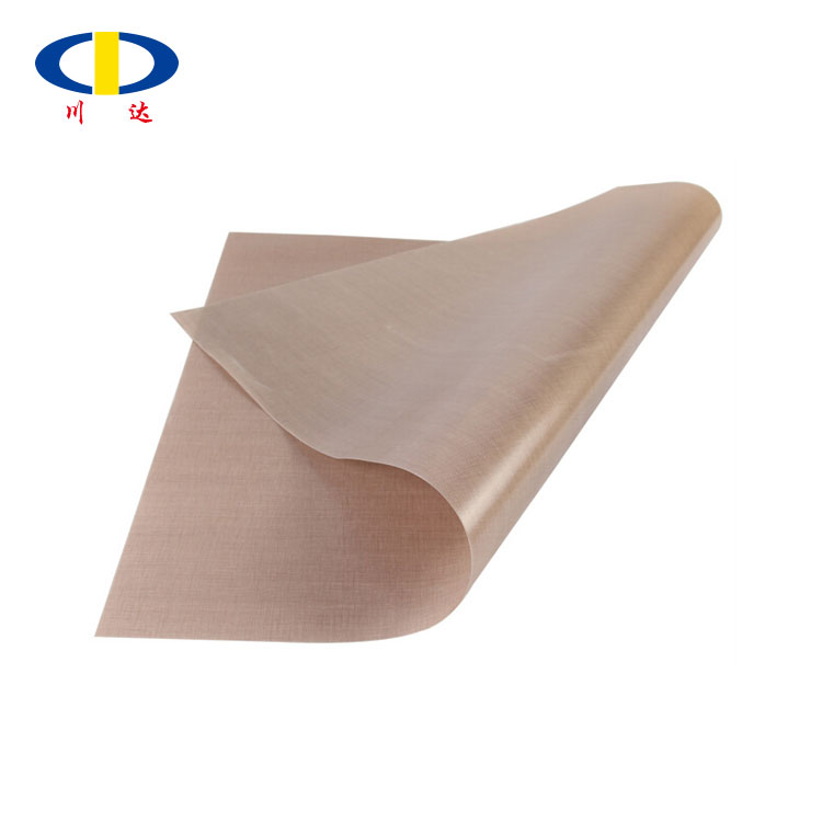 Plain woven glass fiber coated ptfe fabric cloth for cooking food