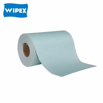 Hangzhou free samples industrial wiping paper rolls manufacturer in China