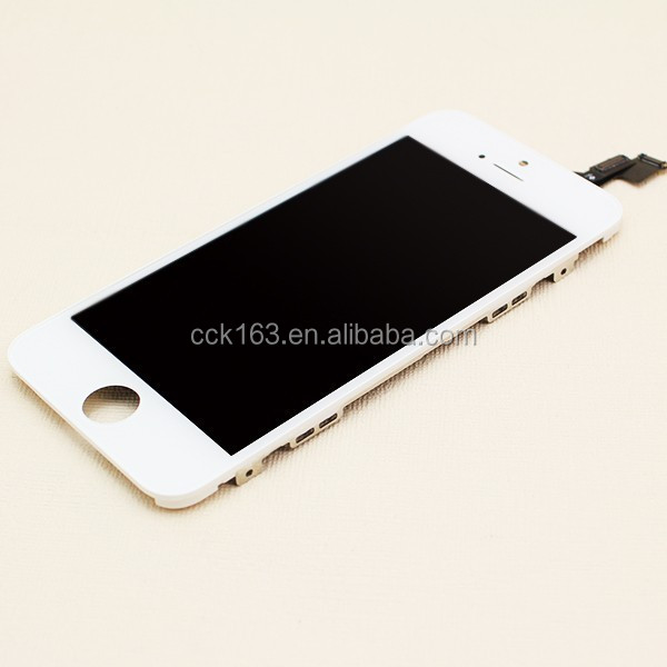 Original For iphone 5 LCD,White and Black Touch Screen Display Digitizer For iphone 5 LCD In Stock