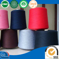 polyester spun yarn 30/1 close virgin for knitting
