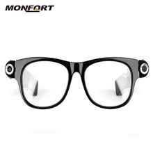Hot selling HD 1080P Mini Camera wearable digital bluetooth video smart spy glasses