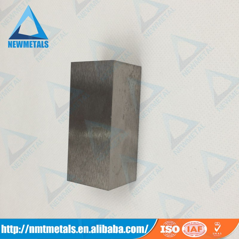 China Manufacturer of Custom Made High Density Metal tungsten heavy metal alloy blocks tungsten heavy alloy cube