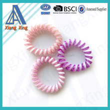 Factory shipping new fashion thick telephone wire hair band,spiral hairband
