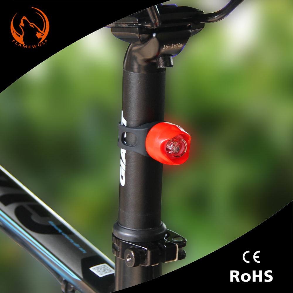 Light weight Super Bright Bike lotus turning tail light