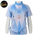 iGift Blue Short Sleeve Cycling Wear Cheap China Custom Cycling Jersey