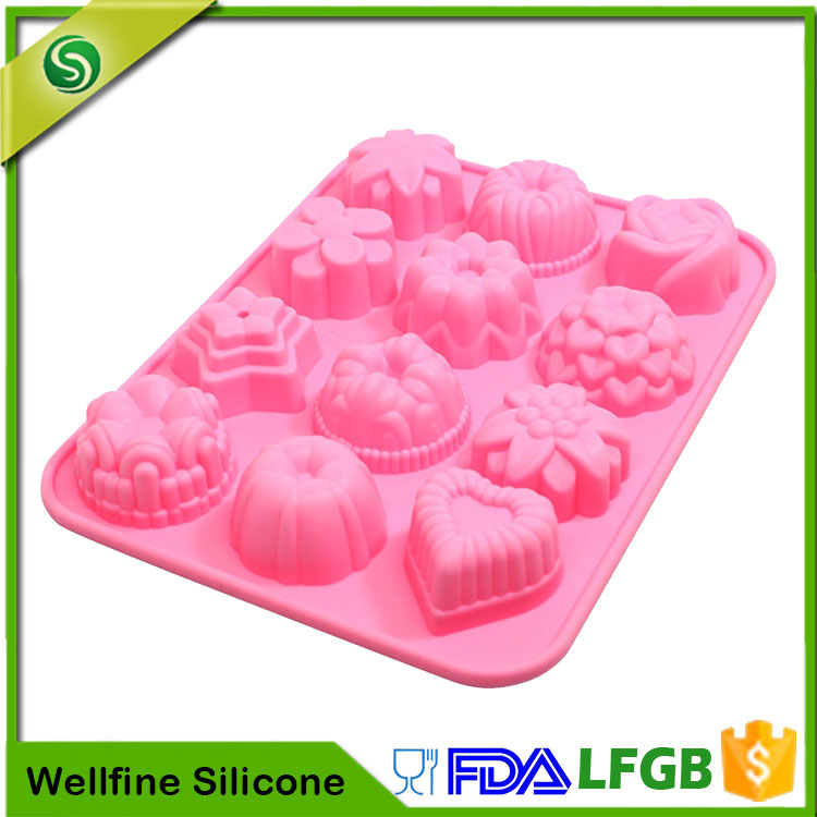 12 Silicone Baking Cups Silicone Baking Mould Manufacturer