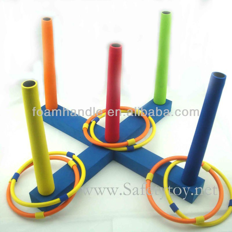 NO.1 Inflatable ring toss game plastic rings for ring toss