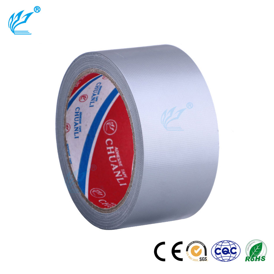 China Offer PVC Wrapping Silver Duct Tape