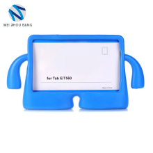 Hot selling children TV EVA PC tablet case cover shockproof bumper for Samsung T560/Tab E 9.6