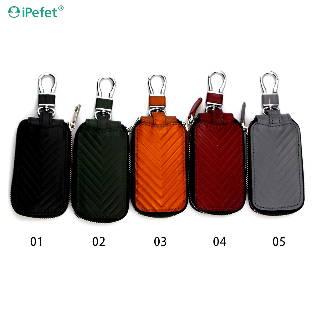 New arrival men women leather case car key holder,car key wallet,car key bag