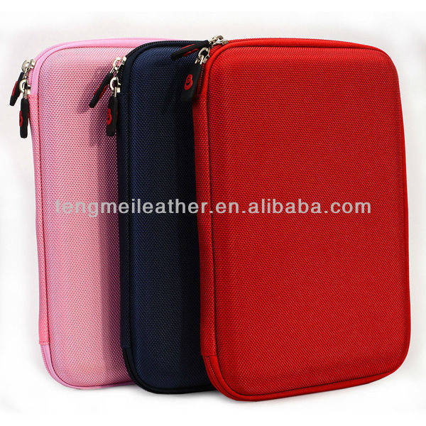 New zipper case for ipad mini,shockproof for mini ipad case,hard pouch case folding slim carrying travel cover for ipad mini