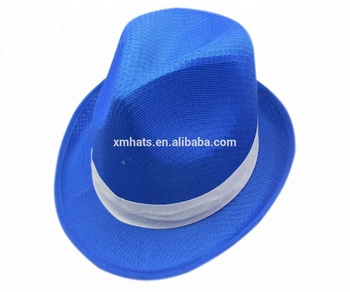 China gold supplier Trade Assurance mans polyester fedora hats