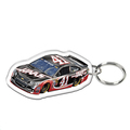 Manufactory custom acrylic car key ring wholesale Perspex keychain
