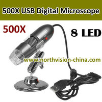 8 pieces LED 500X USB electronic microscope for repair and lab