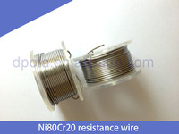 China Wholesale Ecig e cigarette wire pre-built Nichrome wire heating coils low resistence 24 AGW Nichrome wire