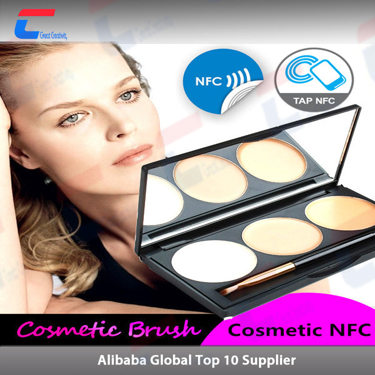 smart objects digital ID nfc tags for cosmetics