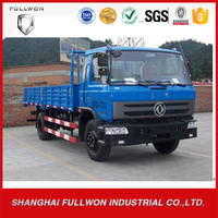 gold supplier low price diesel 8ton 4*2 Dongfeng light van cargo truck for sales