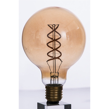Coffee house round soft led light lamp LED filament bulb