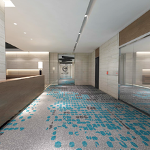 Low prices 100% nylon wall to wall pattern fireproof printed carpet floor for hotel corridor