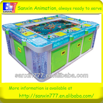 Manufacturer reliable supplier for latest shooting fish game