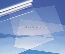 transaprent pet petg plastic board for rigid pvc sheet for binding